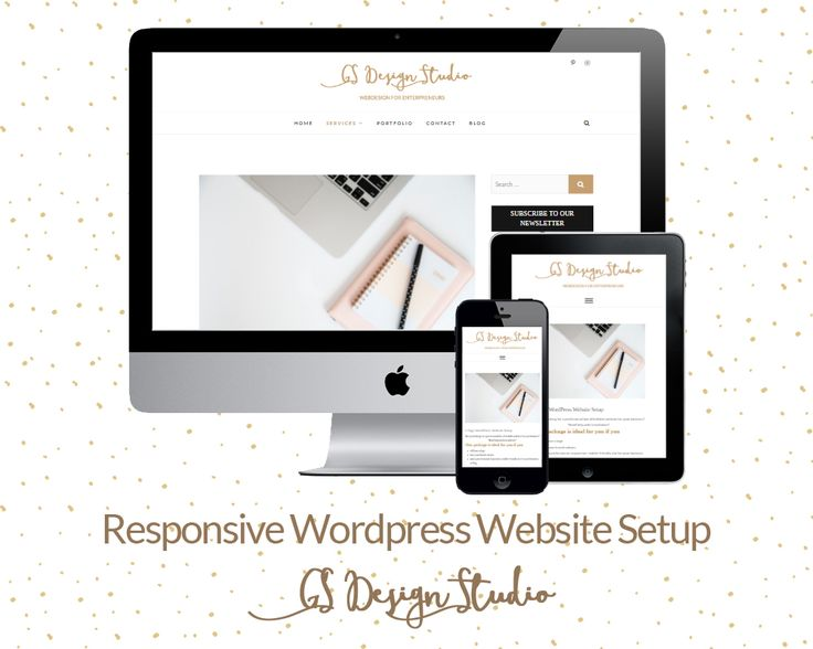 Responsive websites for your business - professional and affordablewordpress website.