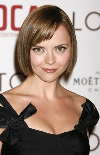 Short Hairstyles with Bangs 2013 For Round Faces