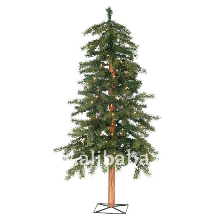 8' pre-iluminado natural alpino artificial de árboles de navidad - luces claras-Adornos navideños-Identificación del producto:121345104-spanish.alibaba.com