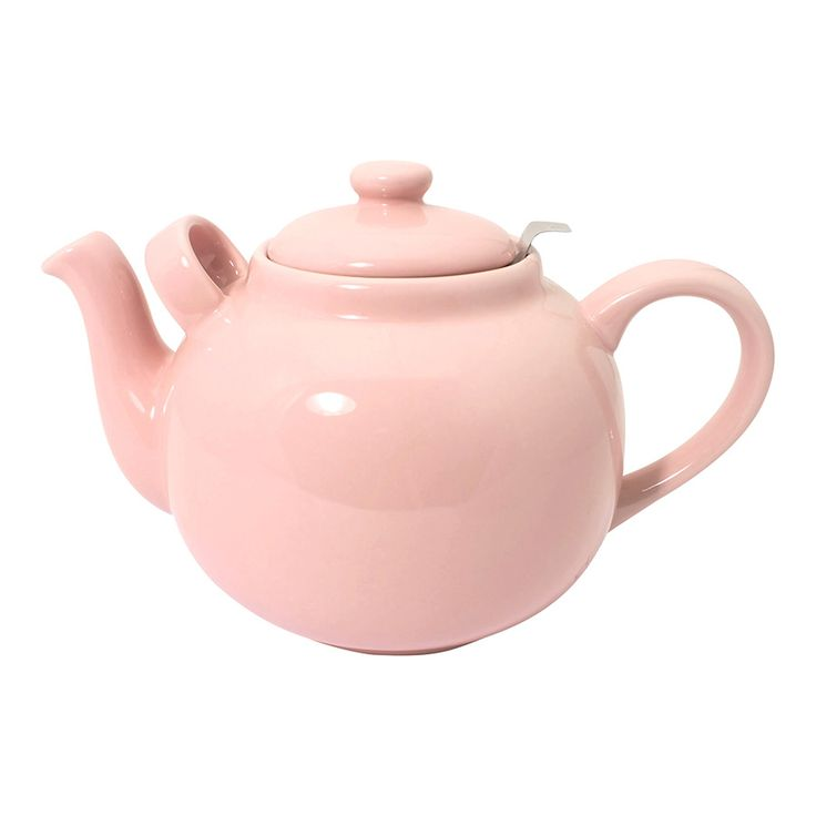 Różowy dzbanuszek w nim dobra herbata, będą przyjaciółmi przez dłuuugie lata