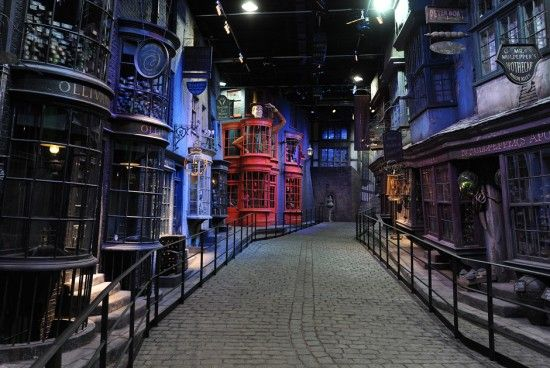 Warner bros studio. The making of Harry Potter. A must see on my trip to England !