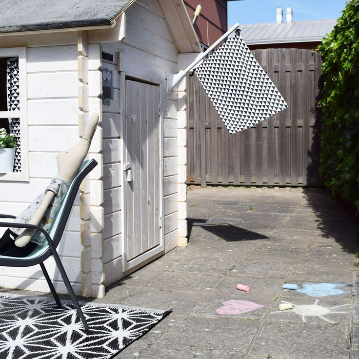 mamalifestyle-tuin-houten-huisje-vlag