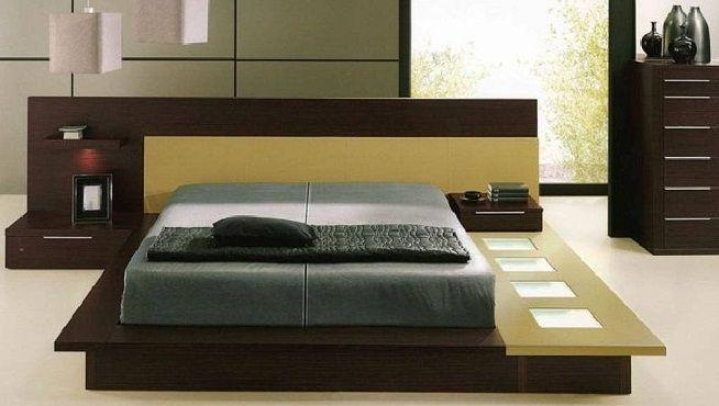 Dormitorio de estilo japonés