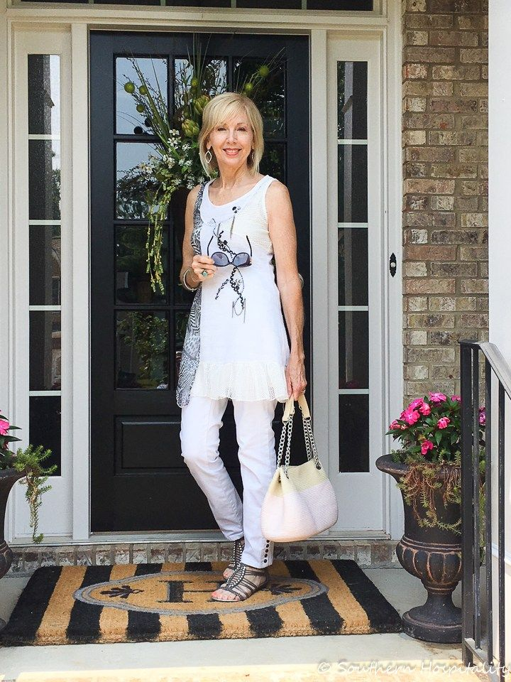 74865d0b47b Fashion over 50  White Casual Wear - Southern Hospitality