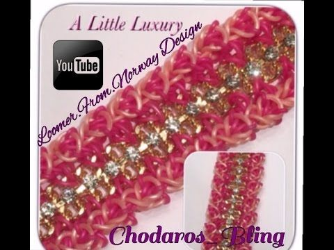 Rainbow Loom Band A Little Luxury Bracelet Tutorial / How To - YouTube