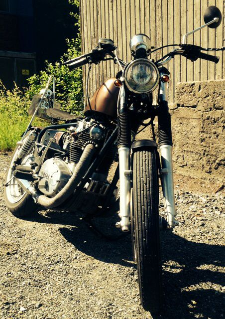 Bobber xs650 by Jan Trollerud Norway