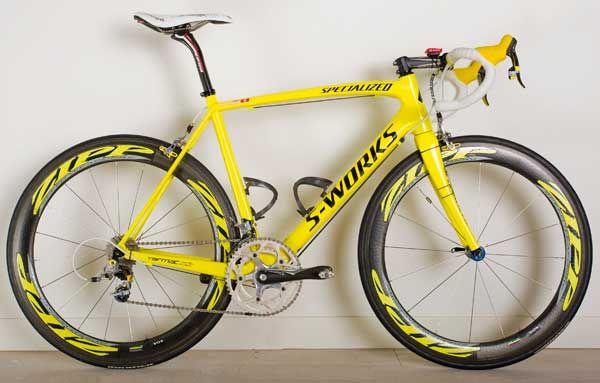 Cancellara's Tour road bike - Cycling Weekly