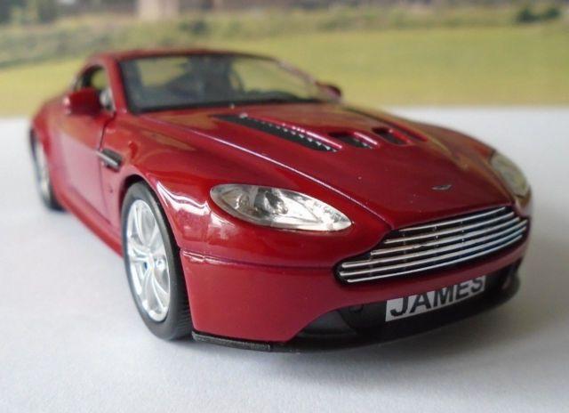 Personalised Plates Burgundy Aston Martin Toy/Model