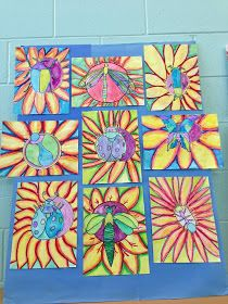 INSECTS.   inspired by the poetry of Brod Bagert.   5th grade