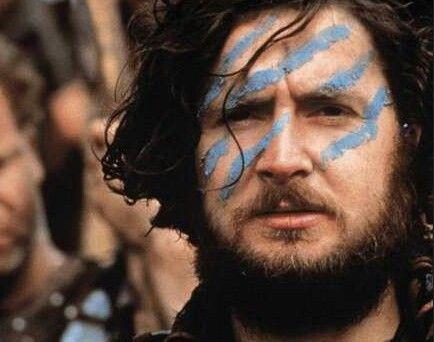 Highland run face paint for the guys