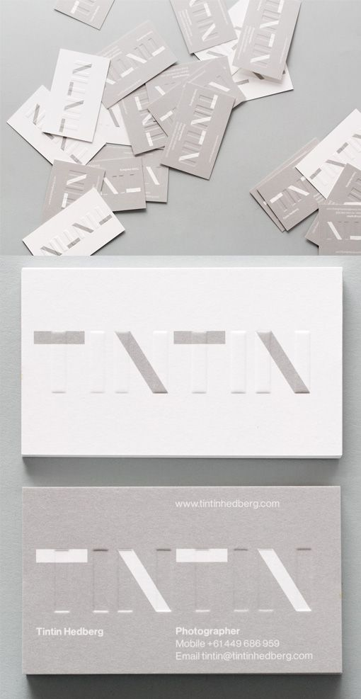 The 129 best Embossing images on Pinterest | Business cards ...