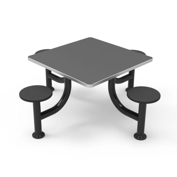 Table Avec Chaise Table A Manger Carree En Acier Inoxydable Avec Chaise Integree Cranium Medical Produc Tables A Manger Carrees Table Et Chaises Table A Manger