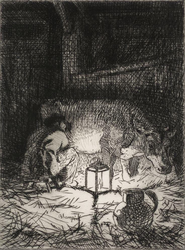 Edmund Blampied (1886-1966) Etching & Drypoint