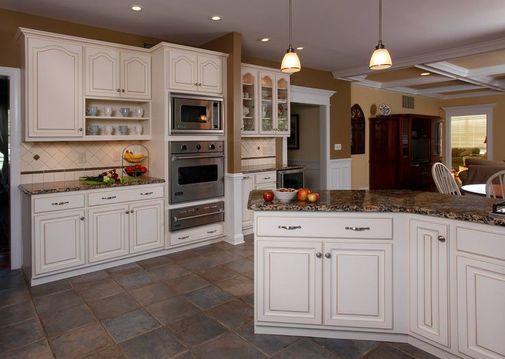 214 best images about kitchen cabinets on pinterest for Light colored kitchen cabinets