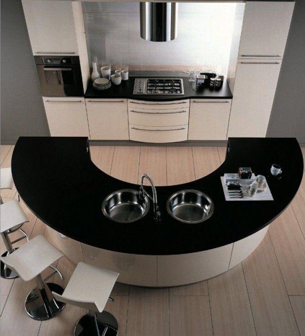 Les Meilleures Idées De La Catégorie Ilot Central Table Sur - Ilot central avec table rallonge pour idees de deco de cuisine