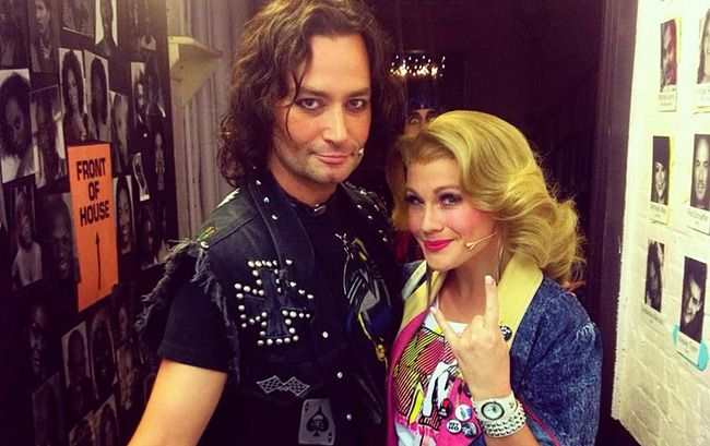 A Day in the Life of Constantine Maroulis of 'Rock of Ages'