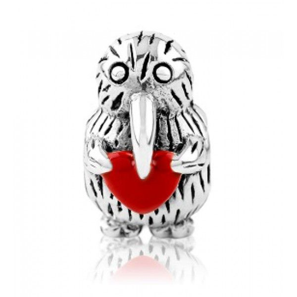 LKE002 Evolve Charm Kiwi Love - Buy Two Evolve Charms and get the Third at Half Price - Free Delivery #Pandora #Charms #Evolvejewellery