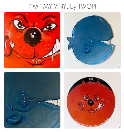 PIMP MY VINYL COLLECTION • 2012 • CUSTOM by TWOPY