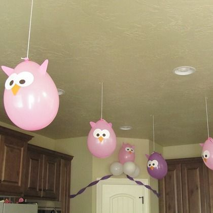 Balloon Owls