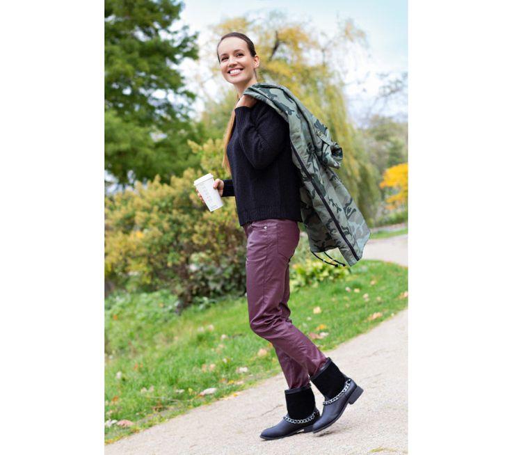 Pulovr se zipem vzadu | modino.cz #modino_sk #modino_style #style #fashion #newseason #autumn #fall