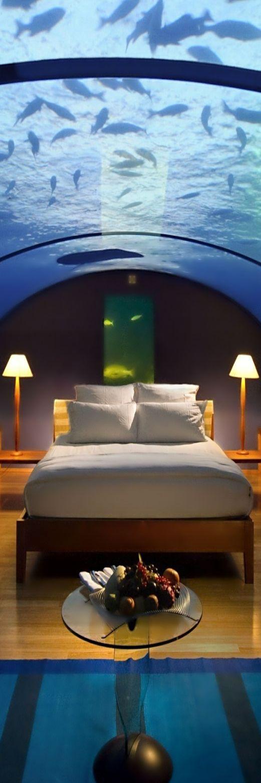 Conrad Hotel and Resort ● Maldives Rangali Island.---My dream! Under The Sea<3