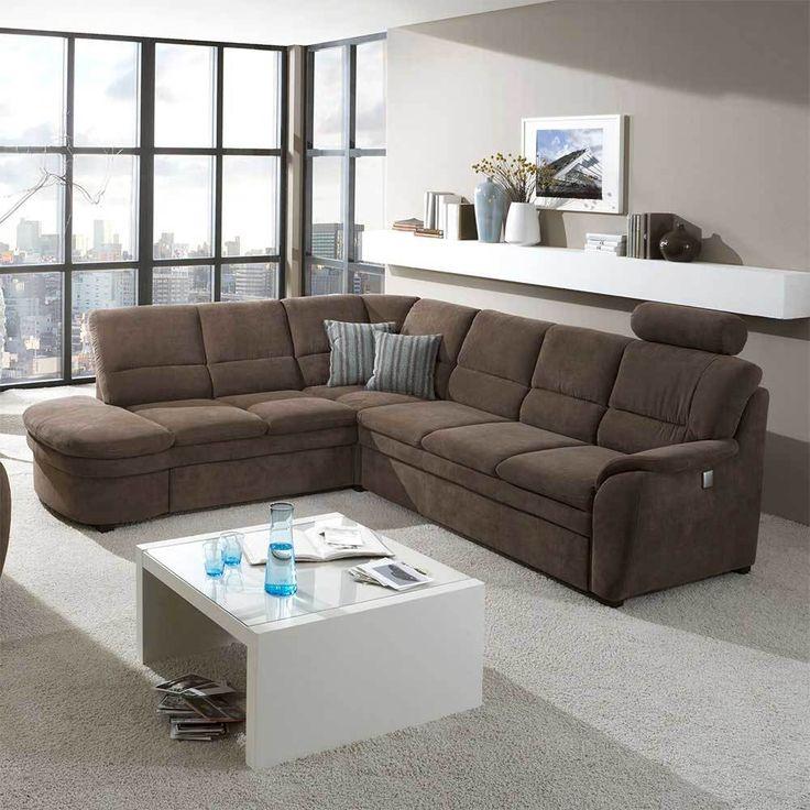 Eckcouch mit Bettfunktion Braun Jetzt bestellen unter: https://moebel.ladendirekt.de/wohnzimmer/sofas/ecksofas-eckcouches/?uid=50fbbc19-2ac3-568a-8b47-df9f558fe4bc&utm_source=pinterest&utm_medium=pin&utm_campaign=boards #sofa #funktionssofa #couch #ecksofaseckcouches #funktionsecke #wohnl #eckgarnitur #sofas #schlafcouch #federkern #schaft #schlafsofa #ecksofa #wohnzimmer #eckcouch #polsterecke