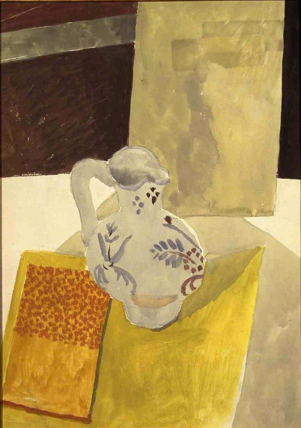 Max Weber (Russian-American, 1881-1961), The Pitcher, 1911. Watercolor on paper, 34 x 24.1 cm.