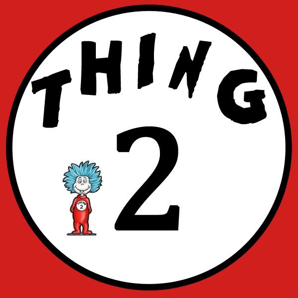 330 best Dr Seuss Printables images on Pinterest  Thing 1 Twins