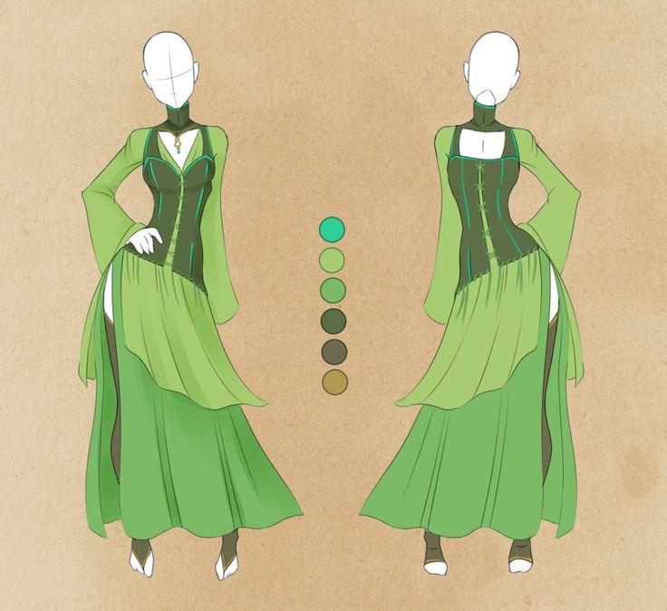 :: Commission Outfit July 15 :: by VioletKy.deviantart.com on @deviantART