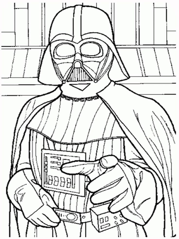 16 best Star Wars Coloring Pages & Party Fun images on ...