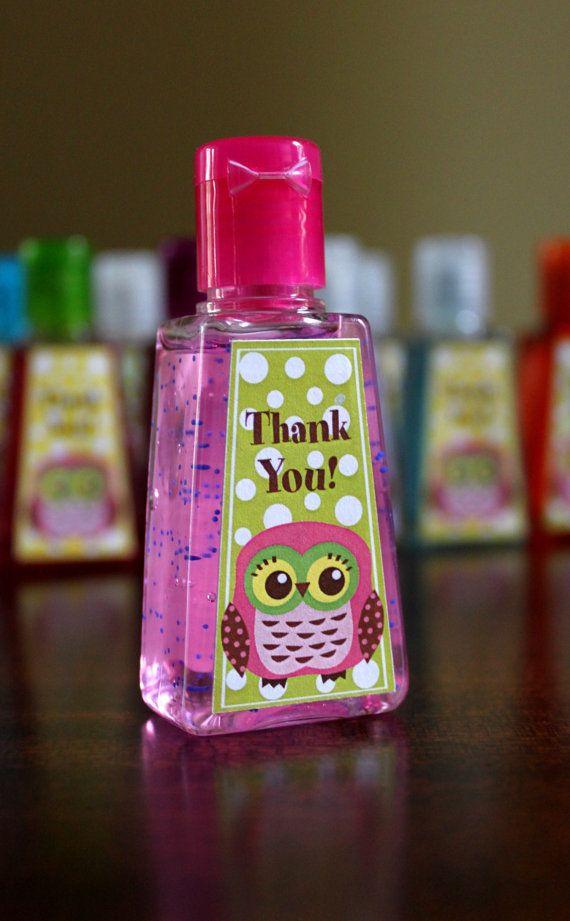 Owl Party Favors  1 fl oz Pocket Hand Sanitizer by margaretsoo, $1.50