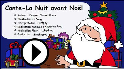 TICs en FLE: Un conte de Noël à écouter , à regarder