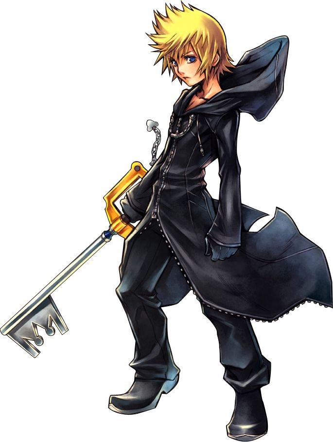 18 best images about kingdom hearts on pinterest - Kingdom hearts roxas images ...