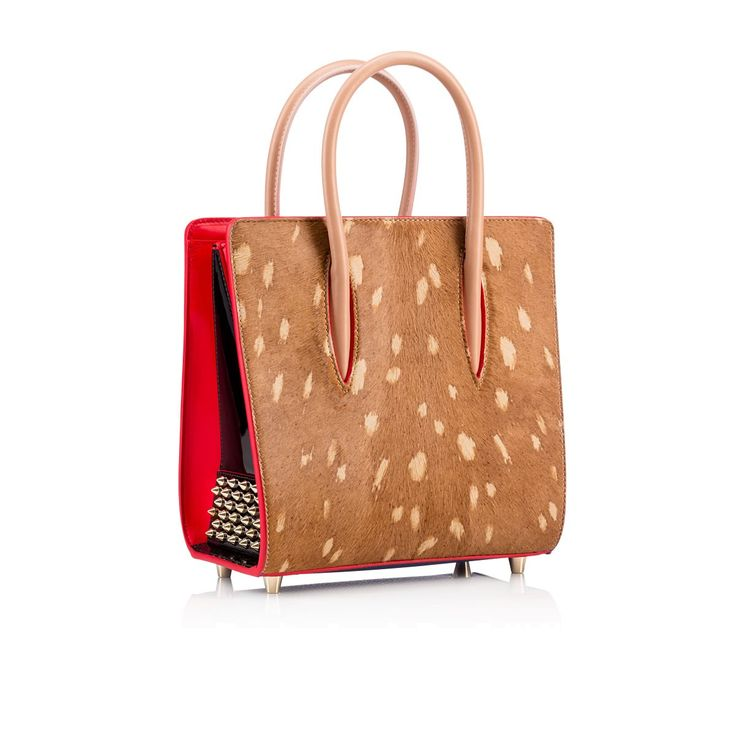 Christian Louboutin United Kingdom Official Online Boutique - Paloma Small Tote  Bag Black Calfskin available online. Discover more Handbags by Christian ...