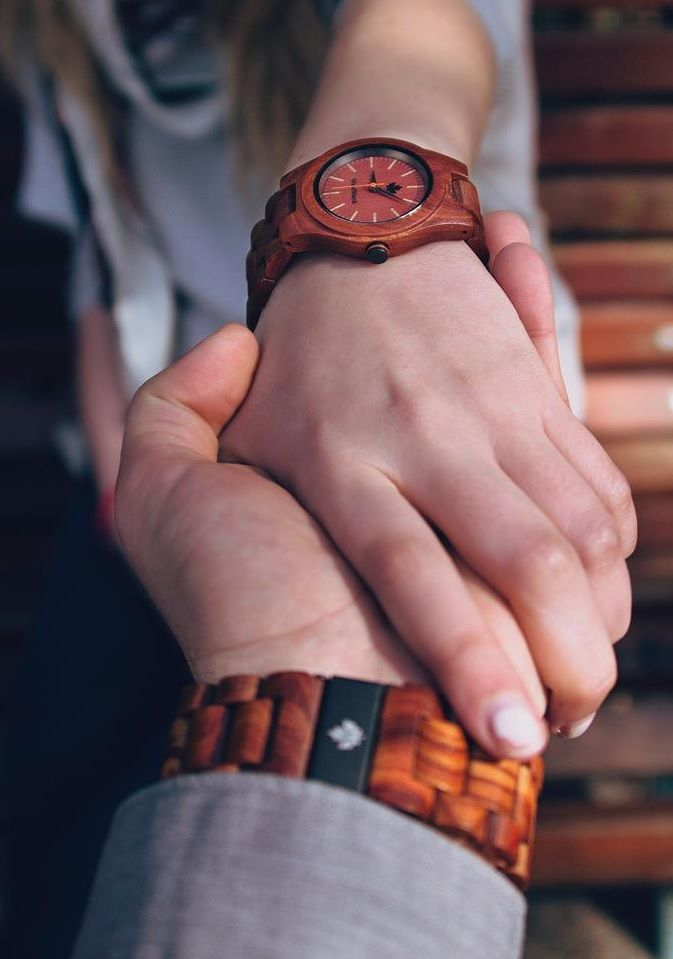 The Core Red Sandalwood Watch. woodwatch.com