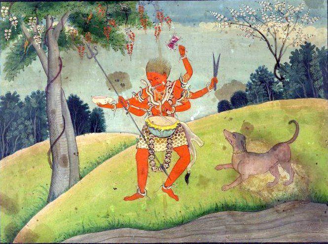 Rakta Bhairava - Bhairava - Wikipedia