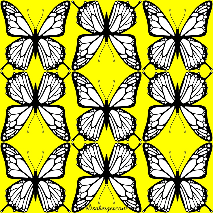 new butterfly graphic by elisa berger.com