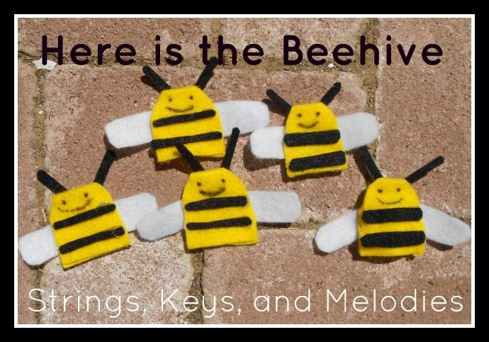 Finger Play Fun Day - Here is the Beehive!: Bees Hives, Baby Toddlers Plays Ideas, Beehive Songs, Fingerplay, Felt Boards, Features Bees, Plays Fun, Finger Plays, Fingers Plays