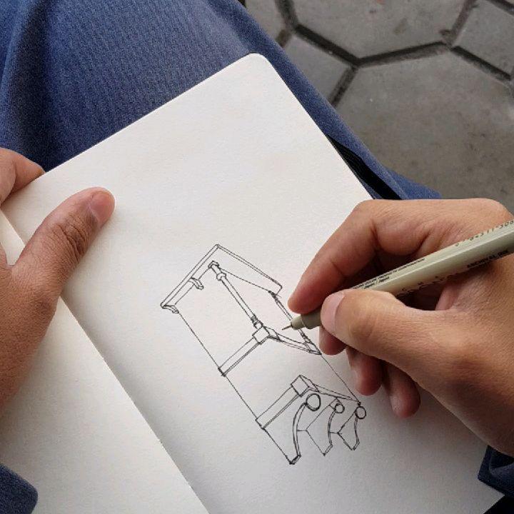 Khalid A Jurhom خالد جرهم On Instagram رسم سكتش معماري هندسة معمارية عمارة فن Sketch Architecturefacto Ancient Architecture Ancient Triangle Tattoo
