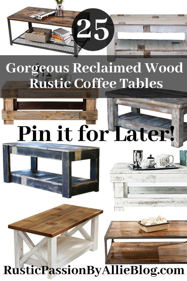 44+ Cheap farmhouse coffee table inspiration