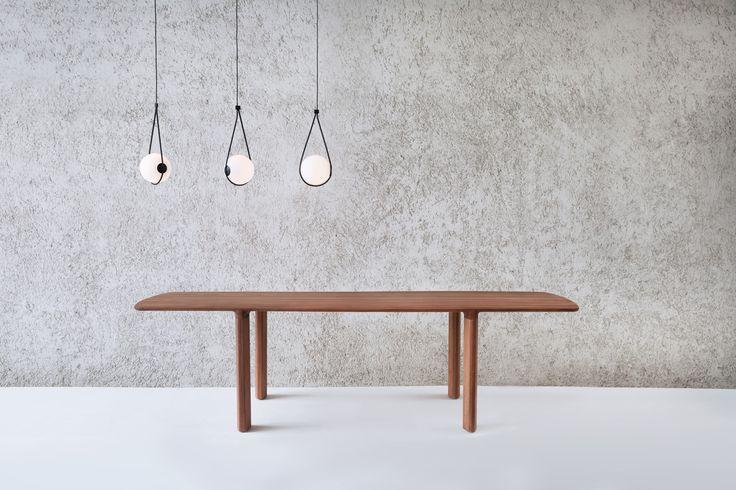 WENTZ: Chapter1 _ corda lamps + folha table by guilherme wentz, 2016 www.guilhermewentz.com