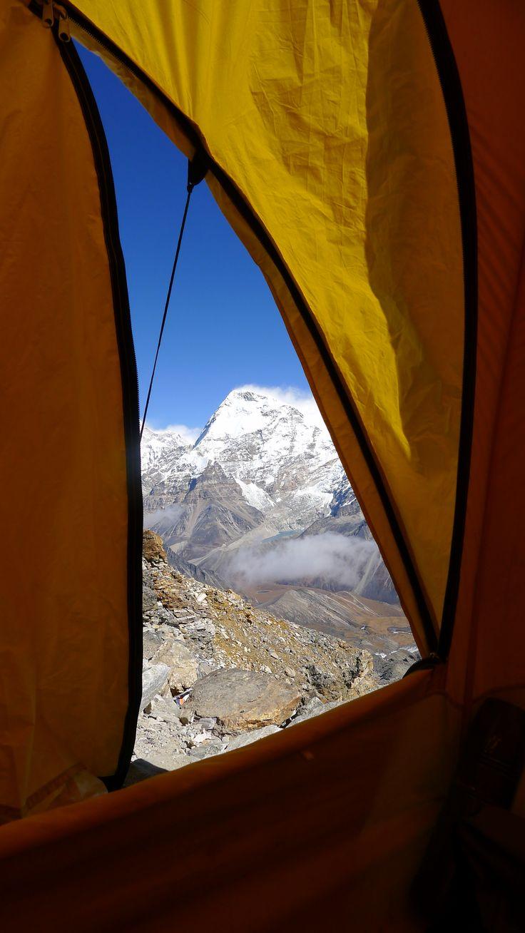 #Tent #campingtrek #campinginNepal #merapeak #visitnepal2016