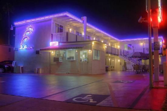 Dolphin Motel, San Diego: in the middle of many things, cheap, clean, family oriented.