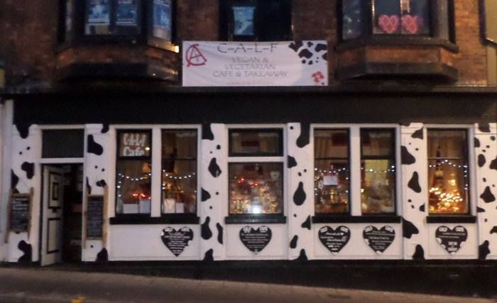C-A-L-F veggie/vegan Cafe in Scarborough. Recommended by Cami Callear.