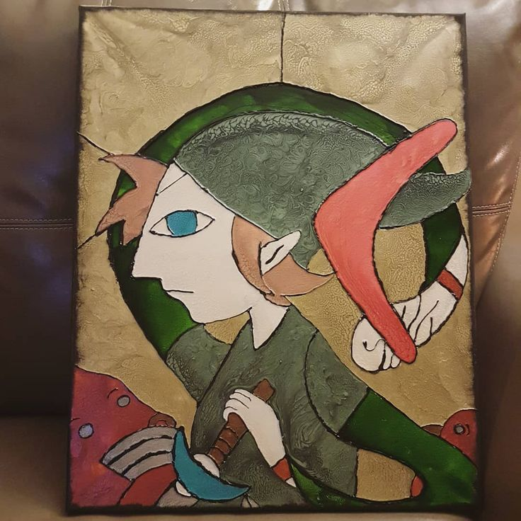 "Link from WindWalker by Winnipeg MB artist Taylore Tully ""Taylore Made"""