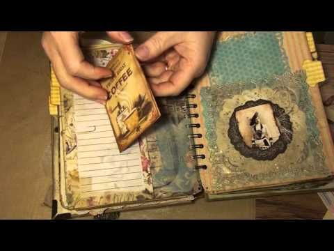 Coffee & Tea Journal- DT project for AmyJoyHcc on Etsy - YouTube
