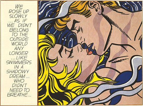 Roy Lichtenstein, We Rose Up Slowly