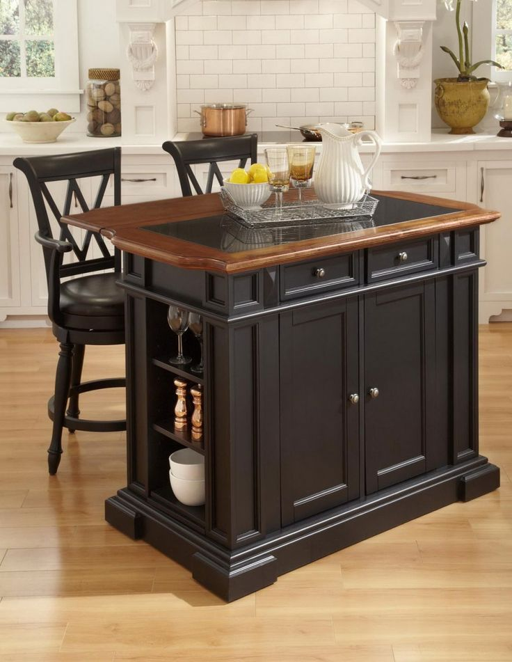 Portable Kitchen Island | kitchen island ideas, kitchen cart
