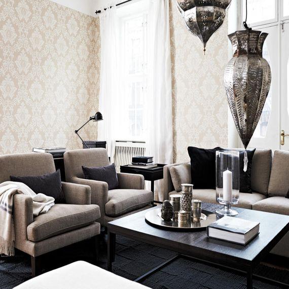 die besten 25 wohnzimmer orientalisch ideen auf pinterest einrichtungsideen wohnzimmer. Black Bedroom Furniture Sets. Home Design Ideas