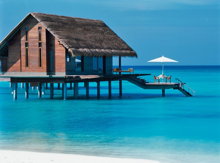 ...a Caribbean patio: Reethi Rah, Beaches House, Resorts, Boathouse, Interiors Design, Dreams House, Villas, Travel, The Maldives